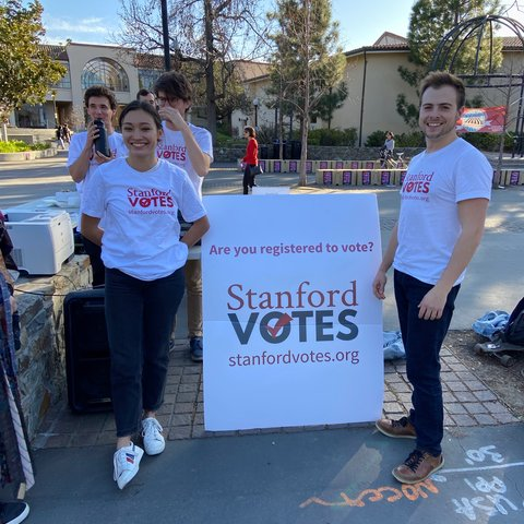 Alex and Chase - StanfordVotes